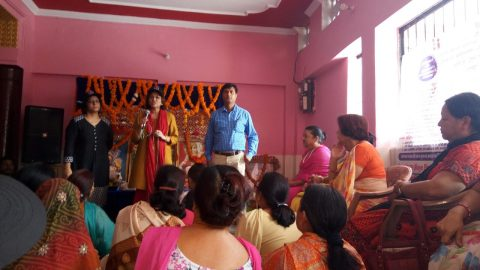 Breast cancer awareness talk and camp at Dakra, Dehradun, Uttarakhand