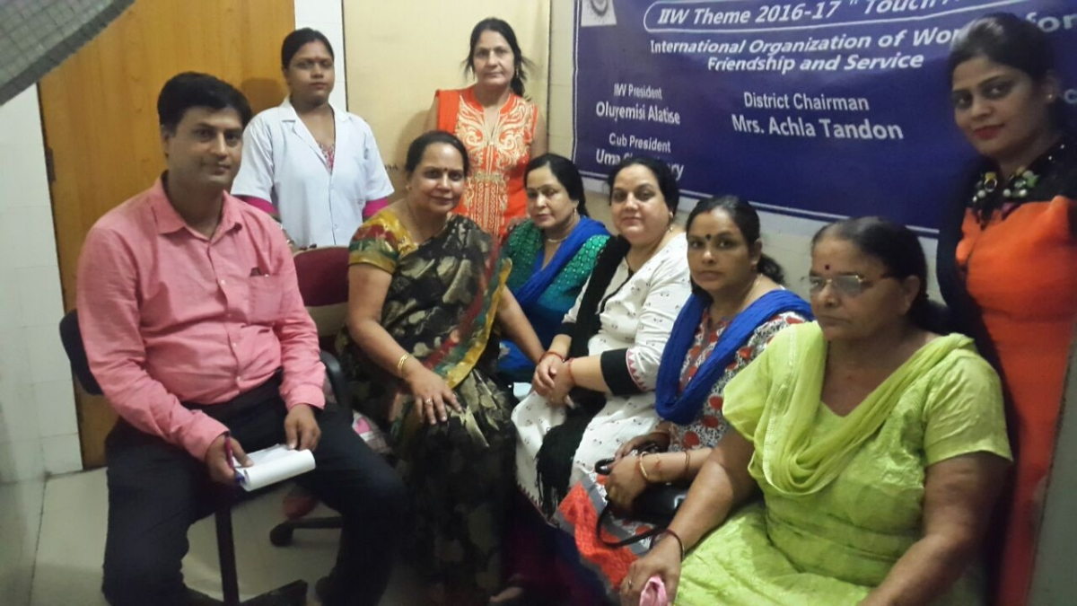 Free breast cancer screening camps by can protect foundation