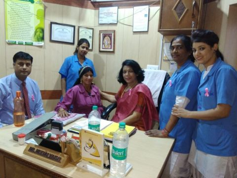 80 patients benefited at the Free Breast Cancer Screening Camp by the Can Protect Foundation