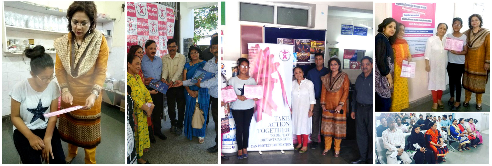 Free Mammography camps by Can Protect Foundation
