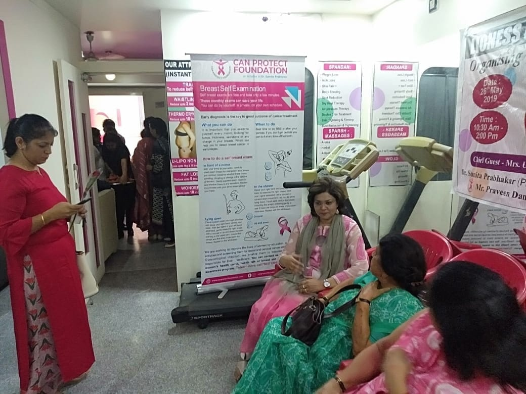 Free Medical Camp, 70 women gets free breast checkup and Pap Smear in Dehradun