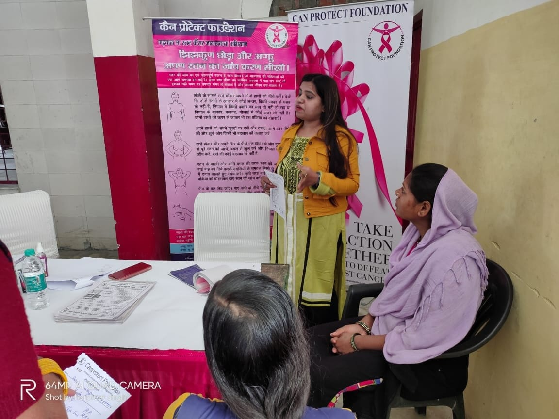 Can Protect Foundation Join hands with NMO, hold free breast cancer awareness and screening camp in Dehradun