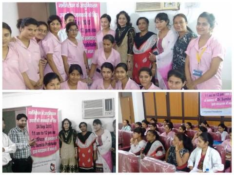 Dr Sumita Prabhakar conducting educational program