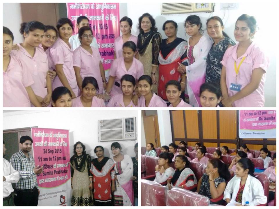 Dr Sumita Prabhakar conducting educational program