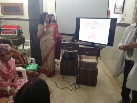 Successful breast screening camp and cancer awareness programme held at Meerut Uttar Pradesh
