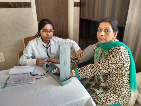 Successful breast screening camp and cancer awareness programme held at Meerut Uttar Pradesh