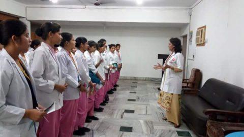 Talk by Dr Sumita Prabhakar on Breastfeeding week