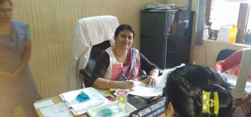 Free Breast Cancer Screening Camp was organized at Savitri Nursing Home, Dehradun