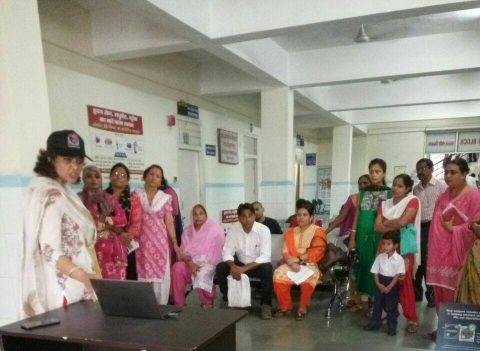 Free Breast Cancer Screening camp organized at Coronation Hospital