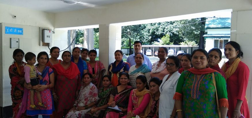 Free breast cancer screening camp