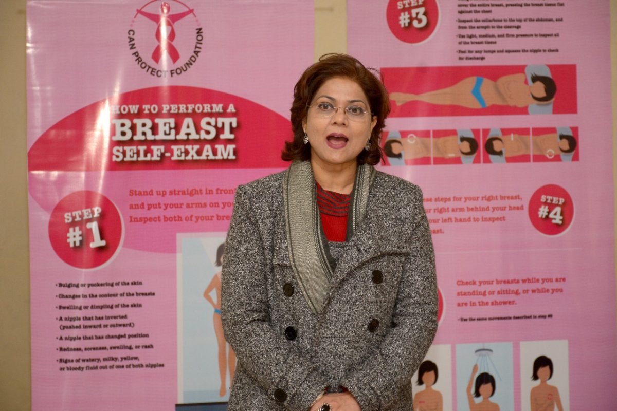 Dr. Sumita Prabhakar, Can Protect Foundation