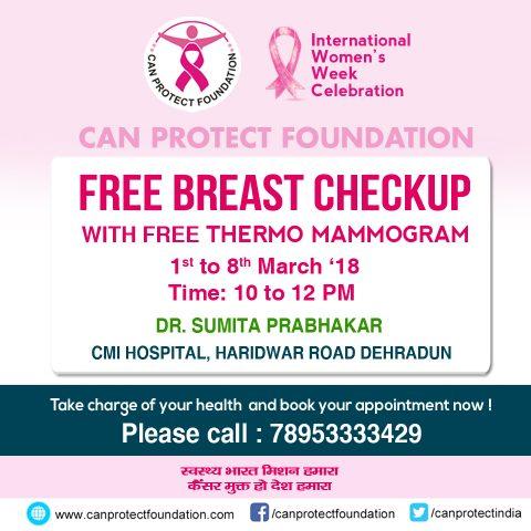 Free Mommogram India