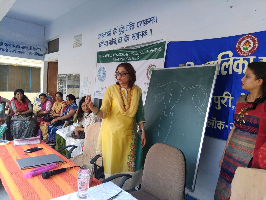 Dr. Sumita Prabhakar Menstrual Hygiene Health Talk
