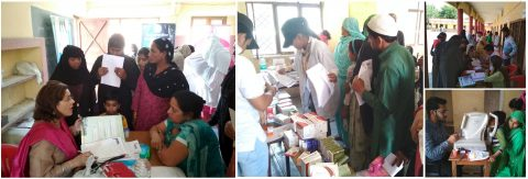 Free Health Camps by Can Protect Foundation