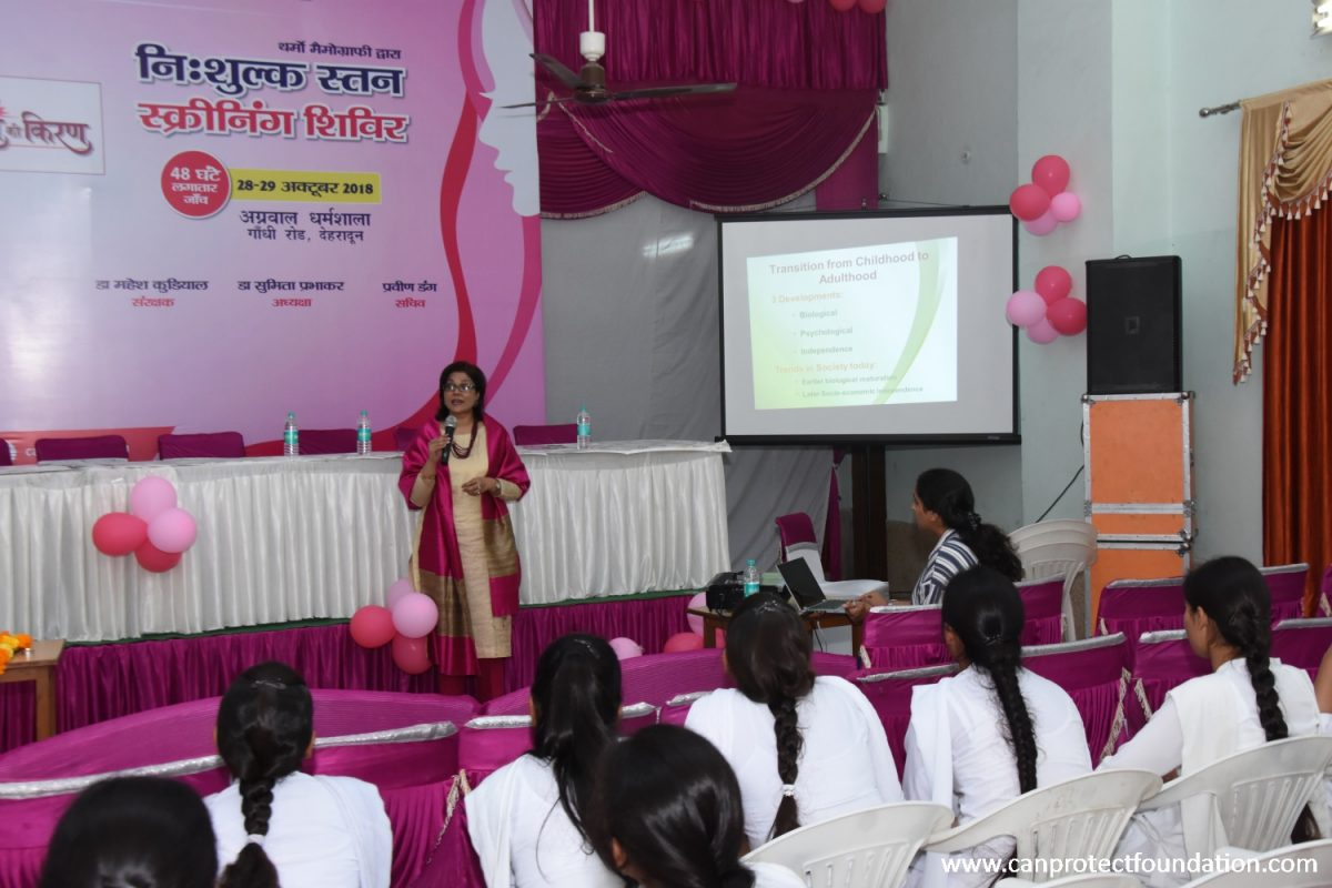 Breast Cancer Awareness Health Talk by Dr Sumita Prabhakar