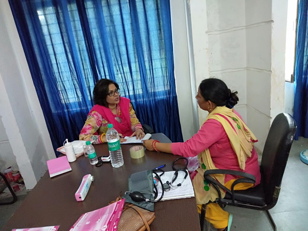 Dr Sumita Prabhakar, Breast Cancer Awareness