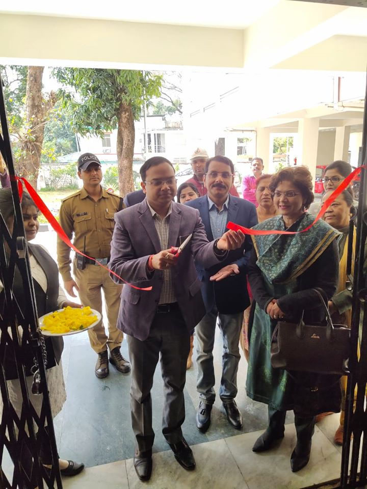 Dehradun DM Ashish Shrivastava and Dr Sumita Prabhakar