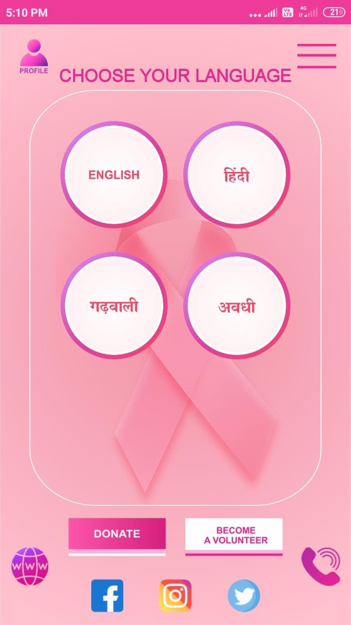Canapp Breast Cancer Awareness app